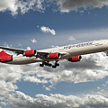 Virgin Airbus A340 G-vgas by J Biggadike