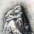 Virgin And Child Madonna Of Humility 1490 by Mantegna Andrea
