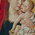 Virgin And Child by Master of St Giles