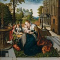 Virgin And Child With Angels by Circle of Bernard van Orley