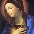 Virgin Of The Annunciation by Reni Guido