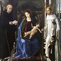 Virgin Of The Knight Of Montesa  by Paolo de San Leocadio