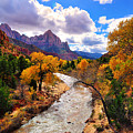Virgin River Autumn by Greg Norrell