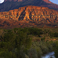 Virgin River Near Zion National Park by Utah Images