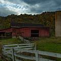 Virginia Barn by Jim Markham