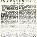 Virginia Constitution, 1776 by Granger