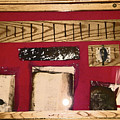 Virginia Dale - Burn Relics In Red by Lenore Senior
