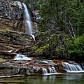 Virginia Falls In The Pool by Adam Jewell