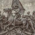 Virginia Monument Gettysburg Battlefield by Randy Steele