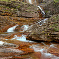Virginia Red Rock Falls by Adam Jewell