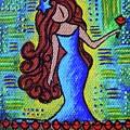 Virgo Y Flor by Ines Rivera
