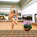 Virtual Exhibition - Dacanvasncing Girl by Pemaro