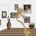 Virtual Exhibition - Statue Of Bonsai 1 by Pemaro