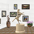 Virtual Exhibition_statue Of A Horse by Pemaro