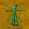 Virtuvian Man by Judy Sherman