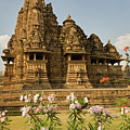 Vishvanatha Temple In Khajuraho  by Aivar Mikko