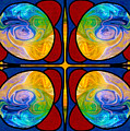 Visions Of Bliss And Abstract Artwork By Omaste Witkowski by Omaste Witkowski