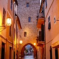 Visions Of Italy Archway by Nancy Bradley