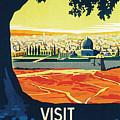 Visit Palestine by Nostalgic Prints