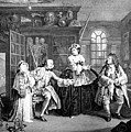 Visit To The Quack Doctor, 1745 by Science Source