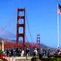Visiting The Golden Gate by Greg Norrell
