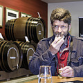 Visitor Samples Single Malt Whisky by Fran Gallogly