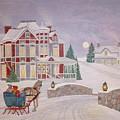 Visitors - Christmas Eve by Patti Lennox