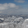 Vista View On West Virginia Mountains by Dan Friend