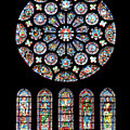 Vitraux - Cathedrale De Chartres - France by Jean-Pierre Ducondi