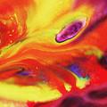 Vivid Abstract Vibrant Sensation Iv by Irina Sztukowski