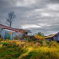 Vivid Farmhouse Memories by Chris Bordeleau