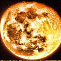 Vivid Full Moon by Marty Kugler