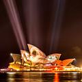 Vivid Opera House by Chris Cousins
