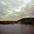 Vltava View 1 by Madeline Ellis