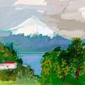 Volcanes Sur De Chile by Carlos Camus