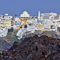 Volcanic Santorini by Jeremy Hayden