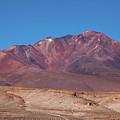 Volcano Crater In Eduardo Avaroa Nr by Aivar Mikko
