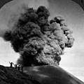 Volcano: Java, 1910 by Granger