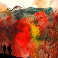 Volcano by Jola Mroszczyk