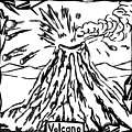 Volcano Maze by Yonatan Frimer Maze Artist