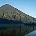 Volcano Reflected In Atitlan Lake 5 by Douglas Barnett