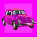 Volkswagen Beetle So Pinks by Joost Hogervorst