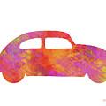 Volkswagom Beetle Art Flames by Ken Figurski