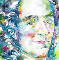 Voltaire - Watercolor Portrait by Fabrizio Cassetta