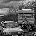 Volvo And Trailer by Philip Openshaw