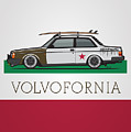 Volvofornia Slammed Volvo 242 240 Coupe California Style by Monkey Crisis On Mars