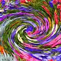 Vortex Abstract Art No. 18 by John R Bryant