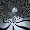 Vortex In Metal  by Philip Openshaw