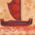 Voyaging Canoe 1 by Cynthia Conklin