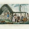 Vue Dune Distillerie Sur L Ile Guam Distillery Scene On Guam by d Apres A Pellion